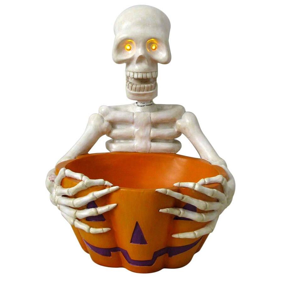 15.5-in Lighted Candy Bowl Indoor Halloween Decoration