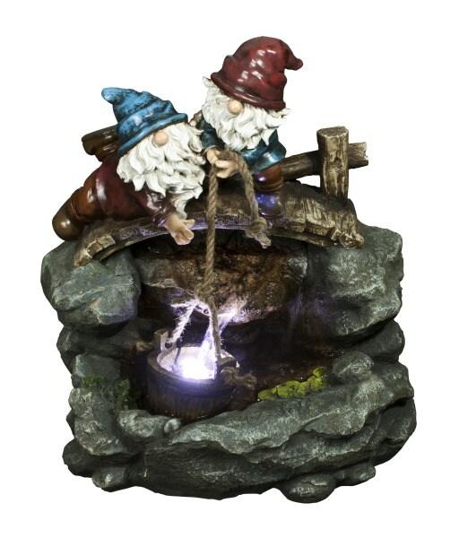 Garden Treasures 23.23-in Fiberglass Statue