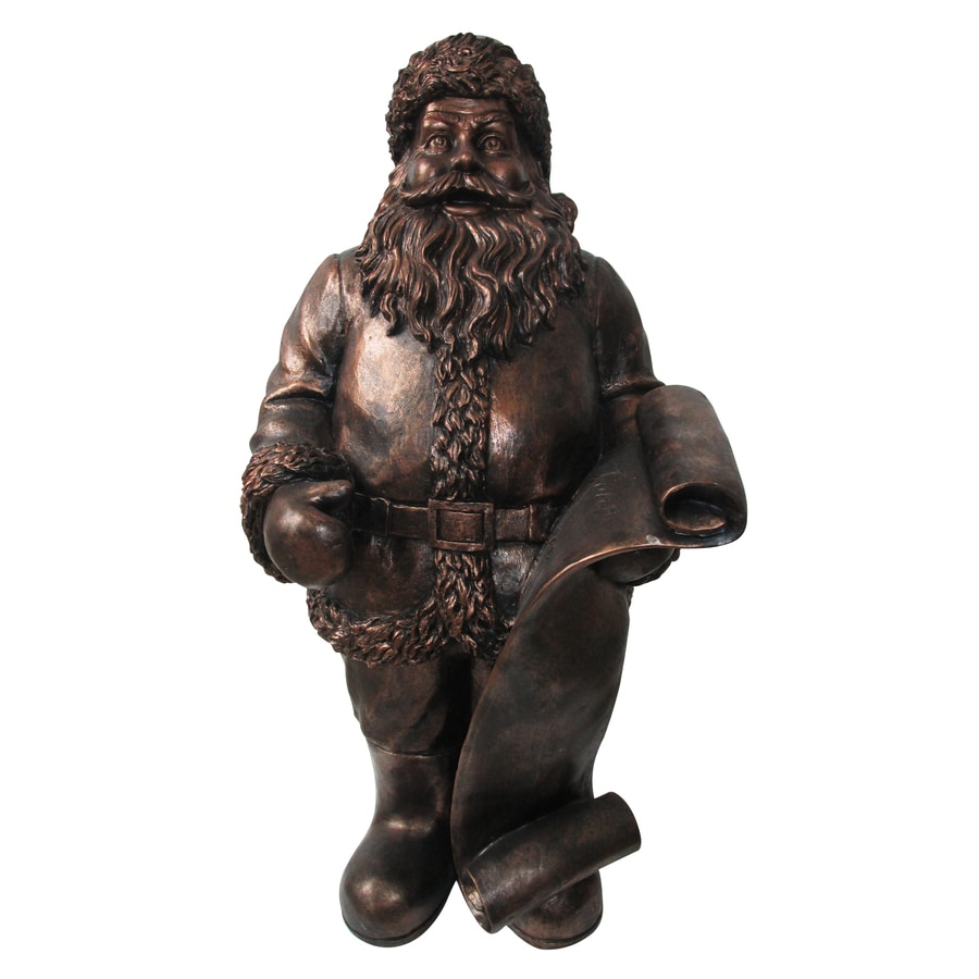 Holiday Living Santa Resin Freestanding Sculpture