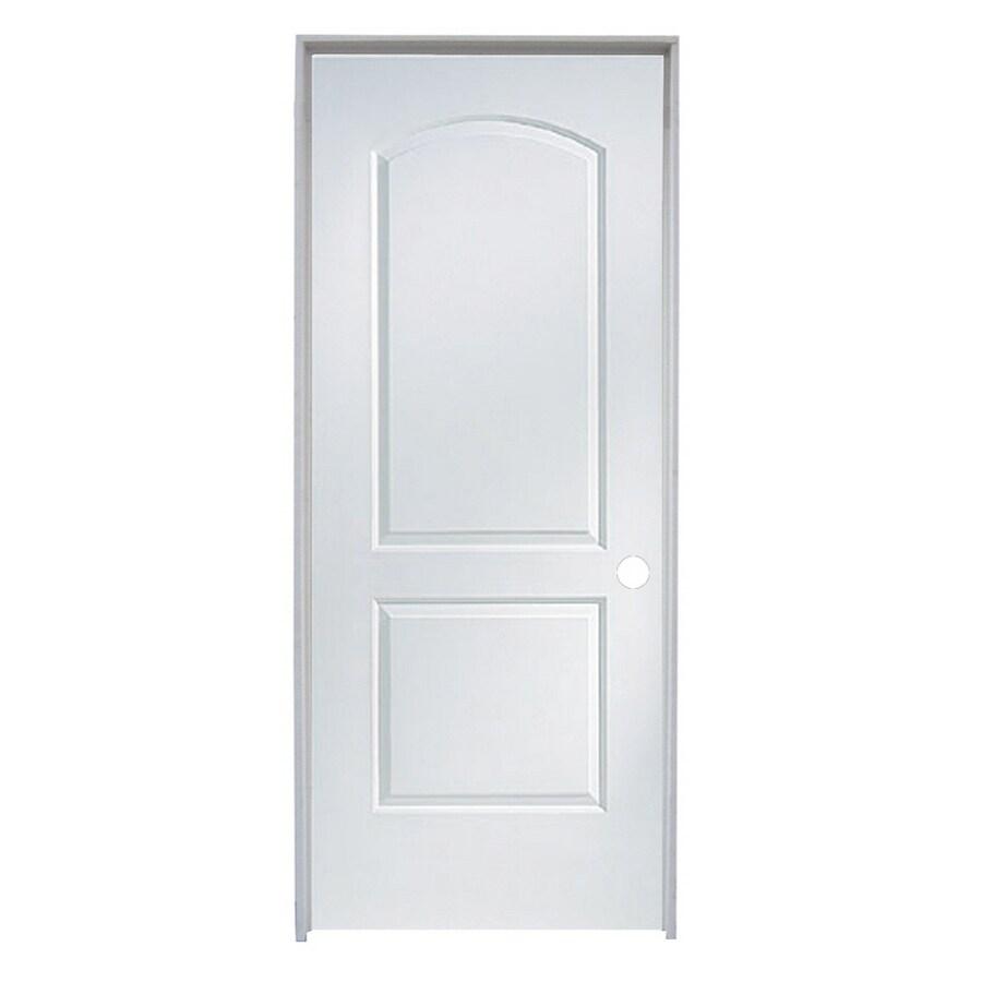 "ReliaBilt 36"" x 80"" Molded Hollow Composite Right-Hand Interior Single Prehung Door"