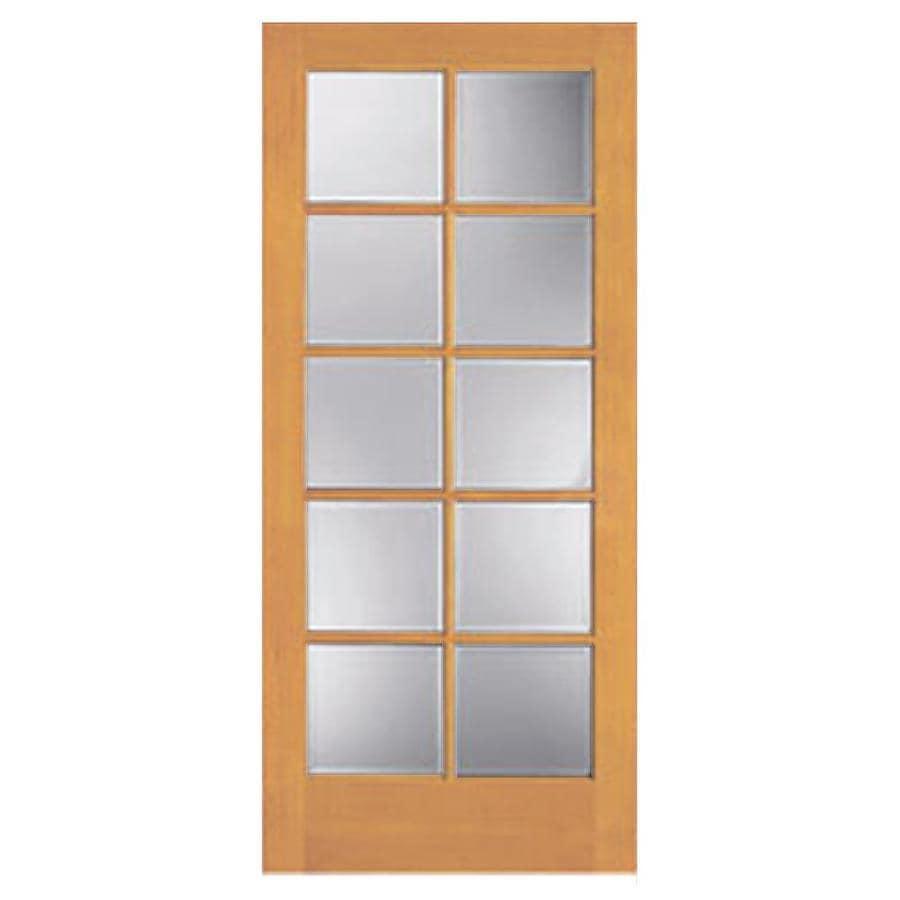 ReliaBilt 10-Lite Pine Slab Interior Door (Common: 30-in x 80-in; Actual: 30-in x 80-in)