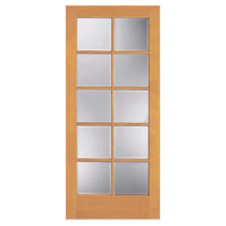 ReliaBilt 10-Lite Pine Slab Interior Door (Common: 36-in x 80-in; Actual: 36-in x 80-in)