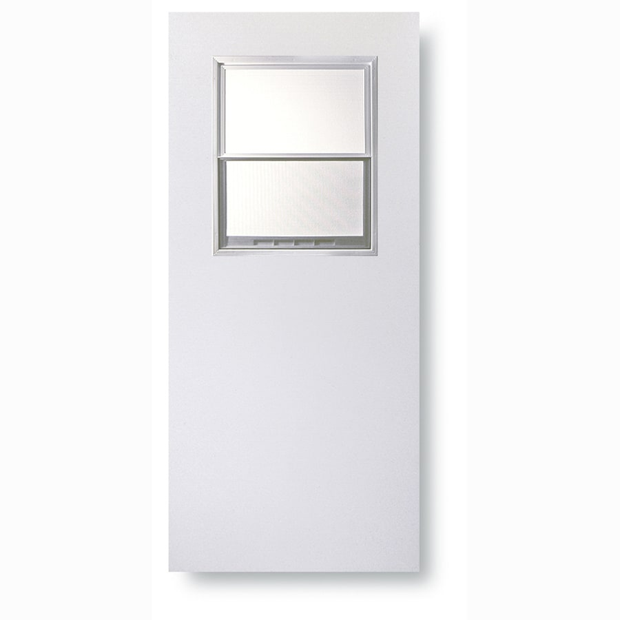 Shop reliabilt solid core flush slab interior door common for Solid core flush panel interior doors