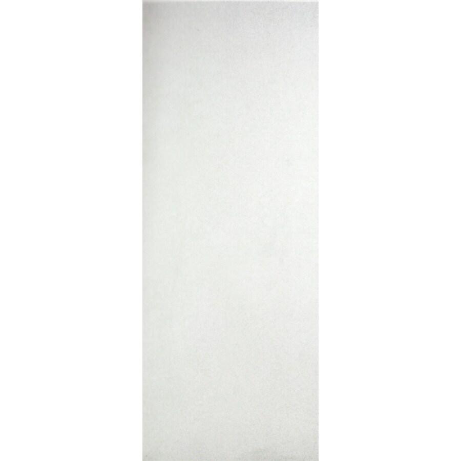ReliaBilt Hollow Core Flush Slab Interior Door (Common: 36-in x 80-in; Actual: 36-in x 80-in)