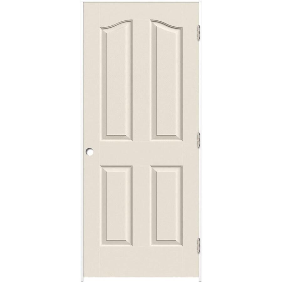 ReliaBilt Prehung Hollow Core 4-Panel Arch Top Interior Door (Common: 28-in x 80-in; Actual: 29.5-in x 81.5-in)