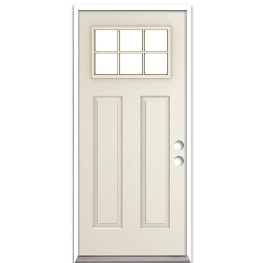 shop reliabilt insulating core prehung entry door common 32 in x 80