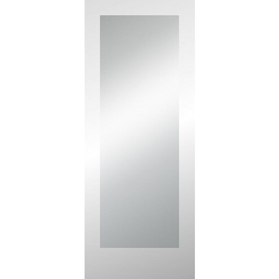ReliaBilt Full Lite Pine Slab Interior Door (Common: 24-in x 80-in; Actual: 24-in x 80-in)