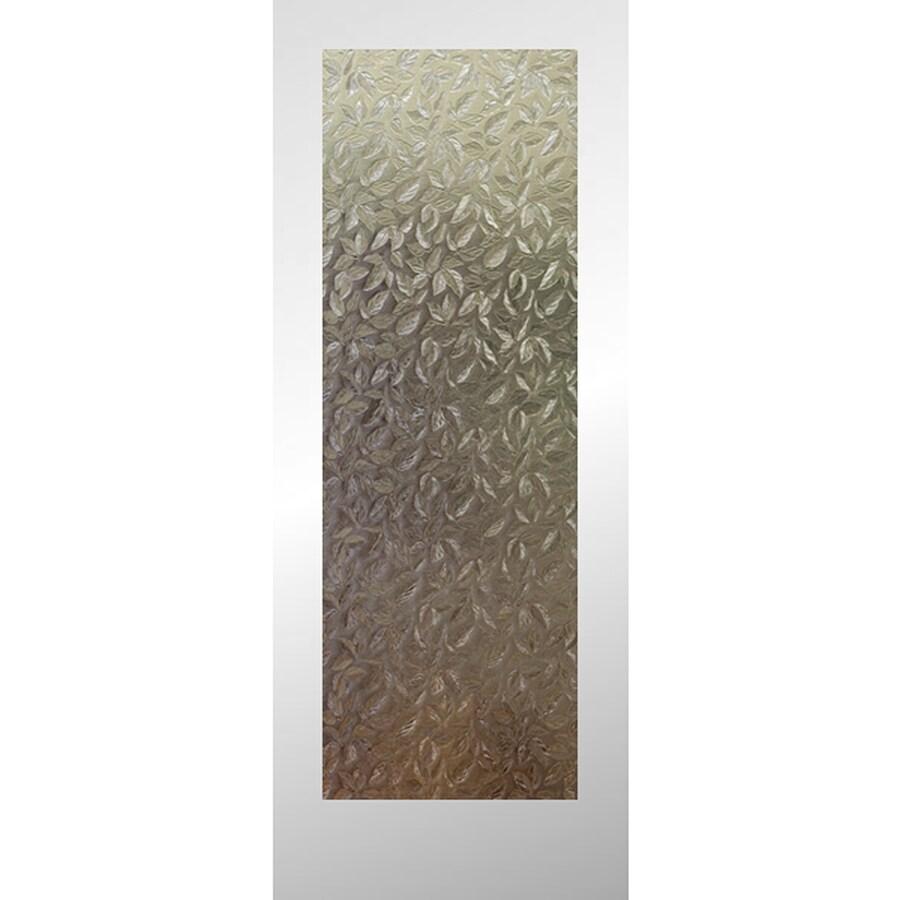 ReliaBilt Full Lite Patterned Glass Pine Slab Interior Door (Common: 24-in x 80-in; Actual: 24-in x 80-in)