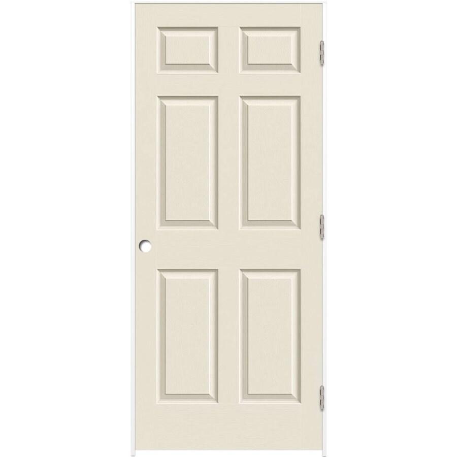 ReliaBilt Prehung Solid Core 6-Panel Interior Door (Common: 30-in x 80-in; Actual: 31.5-in x 81.5-in)