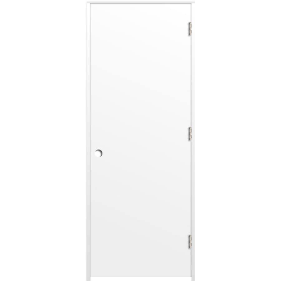 ReliaBilt Prehung Hollow Core Flush Interior Door (Common: 36-in x 80-in; Actual: 37.5-in x 81.5-in)