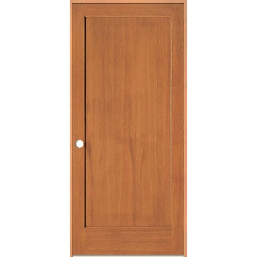 ReliaBilt Prehung 1-Panel Fir Interior Door (Common: 24-in x 80-in; Actual: 25.5-in x 81.5-in)