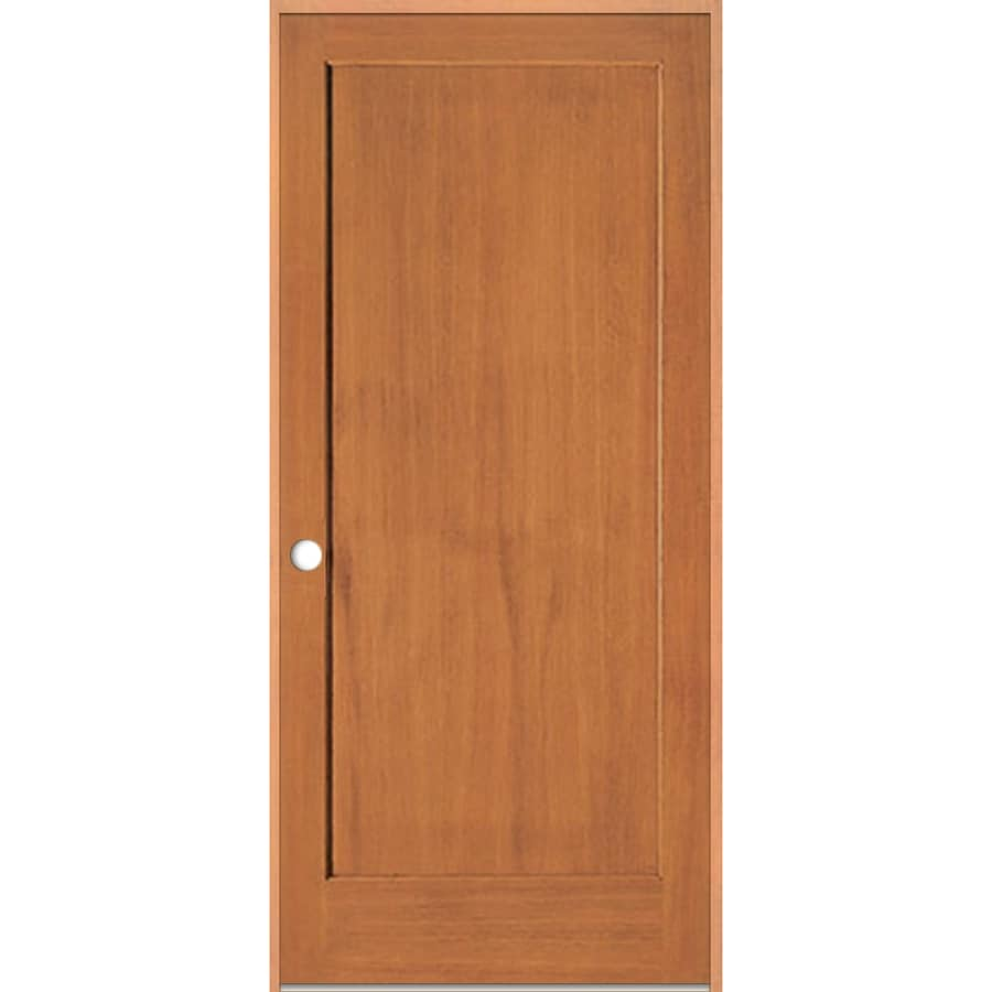 ReliaBilt Prehung 1-Panel Fir Interior Door (Common: 30-in x 80-in; Actual: 31.5-in x 81.5-in)