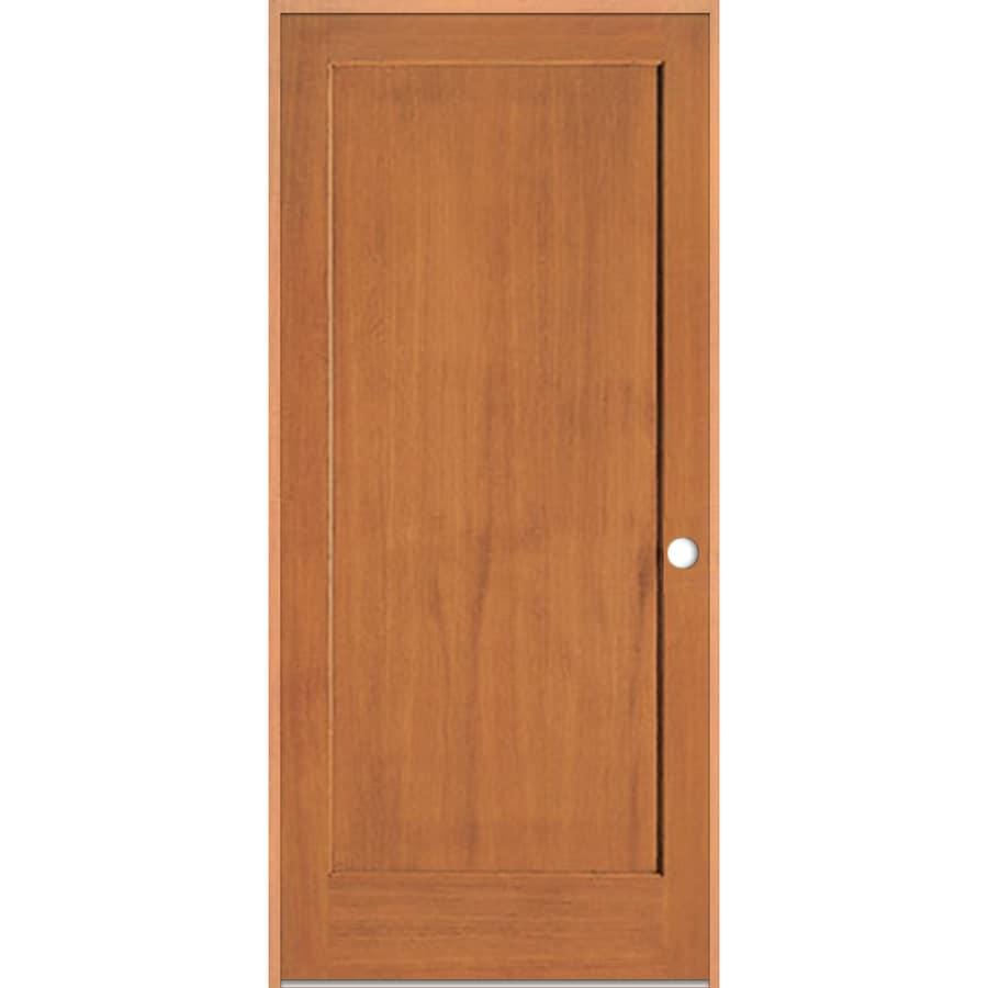 ReliaBilt Prehung 1-Panel Fir Interior Door (Common: 36-in x 80-in; Actual: 37.5-in x 81.5-in)