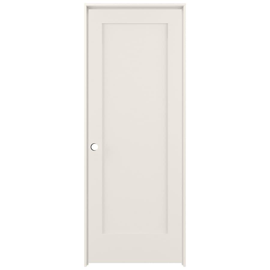 ReliaBilt Prehung Solid Core 1-Panel Interior Door (Common: 24-in x 80-in; Actual: 25.5-in x 81.5-in)