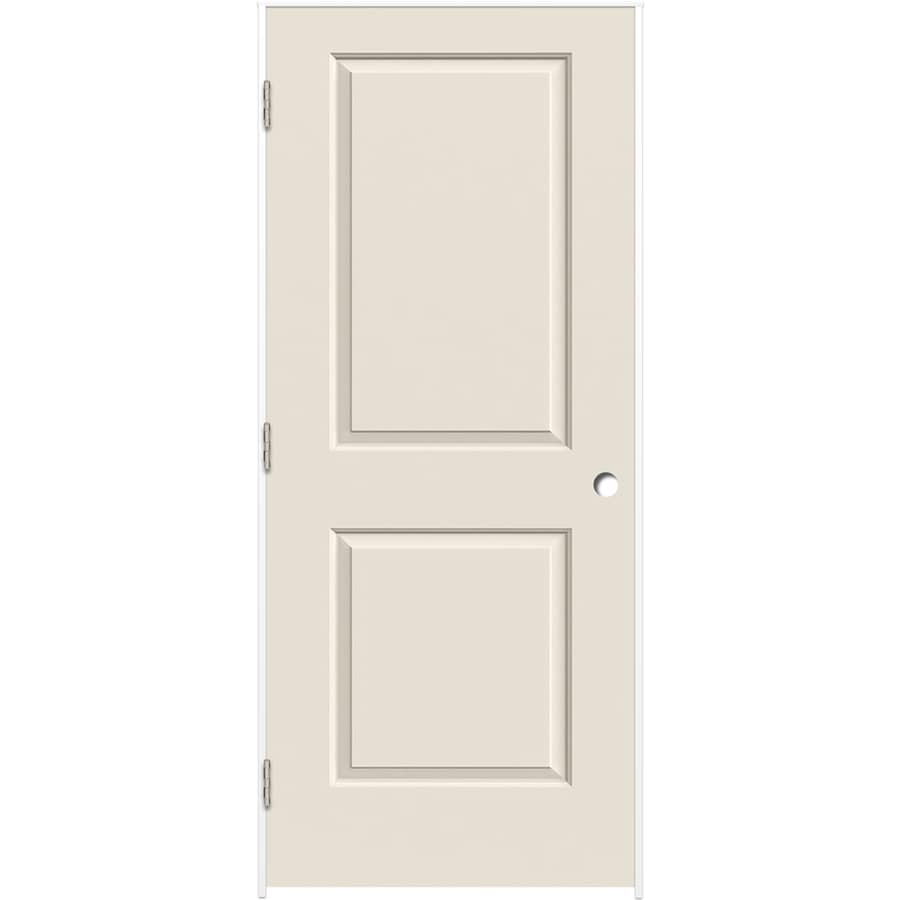 ReliaBilt Prehung Hollow Core 2-Panel Square Interior Door (Common: 28-in x 80-in; Actual: 29.375-in x 81.312-in)