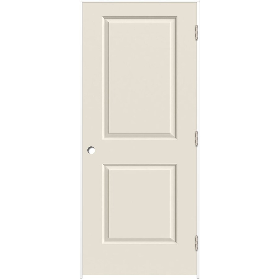 ReliaBilt Prehung Hollow Core 2-Panel Square Interior Door (Common: 32-in x 80-in; Actual: 33.375-in x 81.312-in)