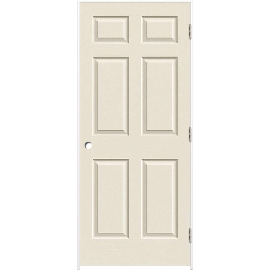 ReliaBilt Prehung Hollow Core 6-Panel Interior Door (Common: 28-in x 80-in; Actual: 29.375-in x 81.312-in)