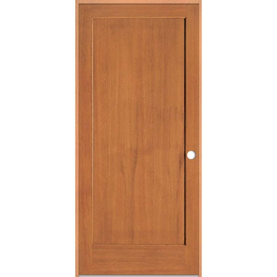 ReliaBilt Prehung Solid Core 1-Panel Fir Interior Door (Common: 30-in x 80-in; Actual: 31.375-in x 81.312-in)