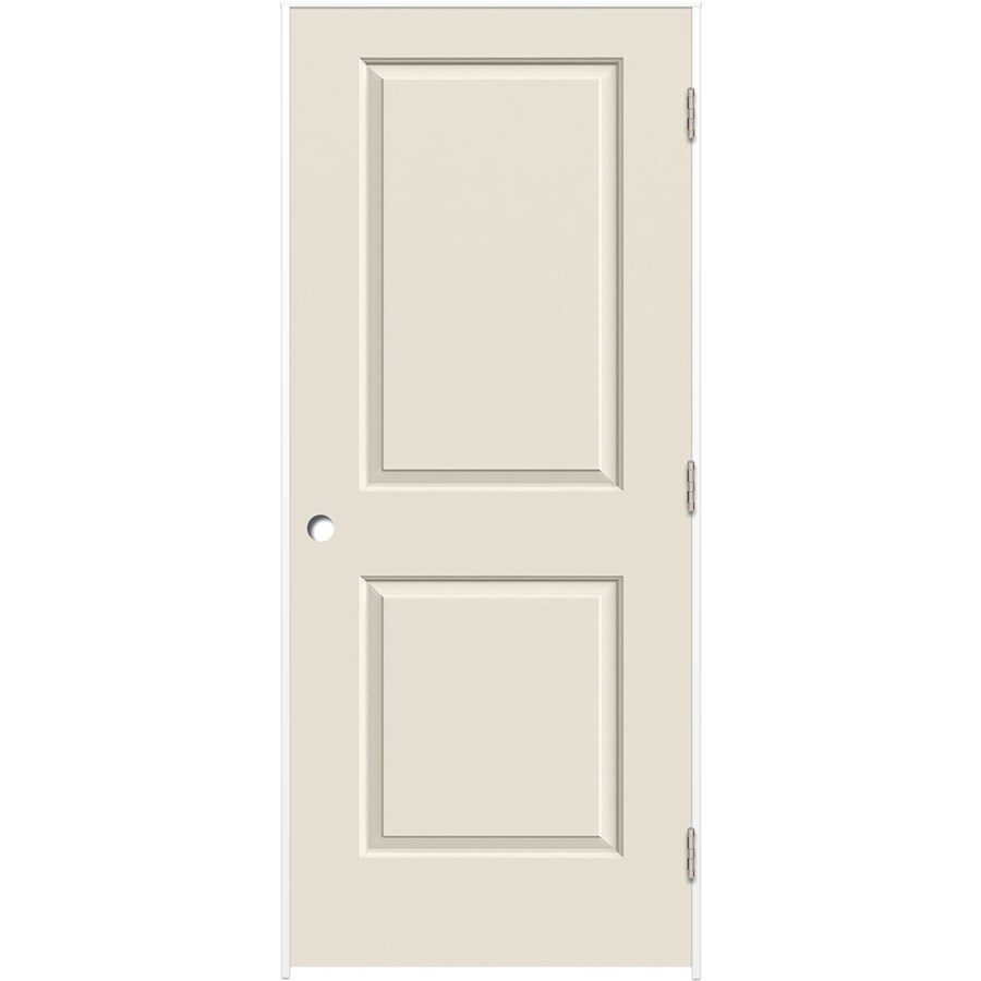 ReliaBilt Prehung Hollow Core 2-Panel Square Interior Door (Common: 30-in x 80-in; Actual: 31.375-in x 81.187-in)