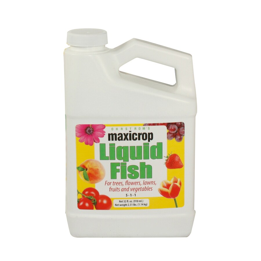 Maxicrop Fish 32-fl oz Organic/Natural Flower and Vegetable Food (5-1-1)