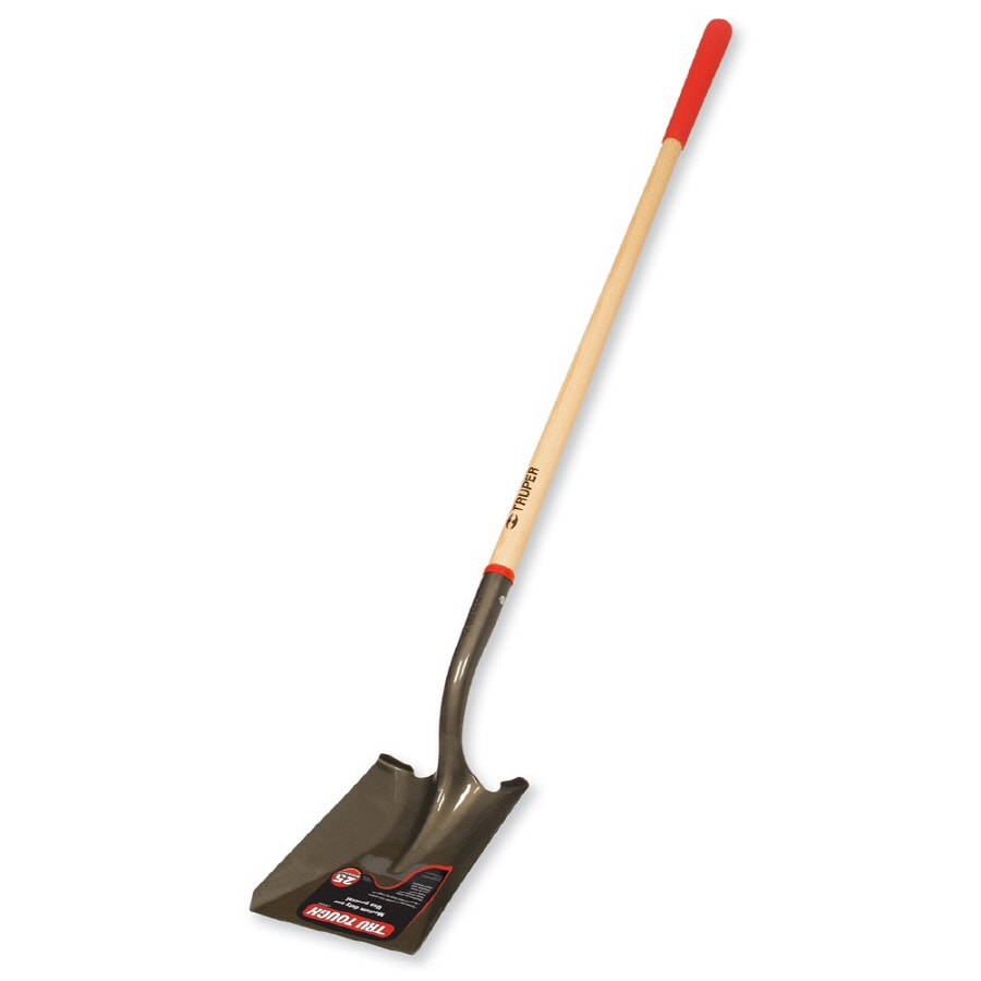 Tru Tough Long-Handle Wood Transfer Shovel