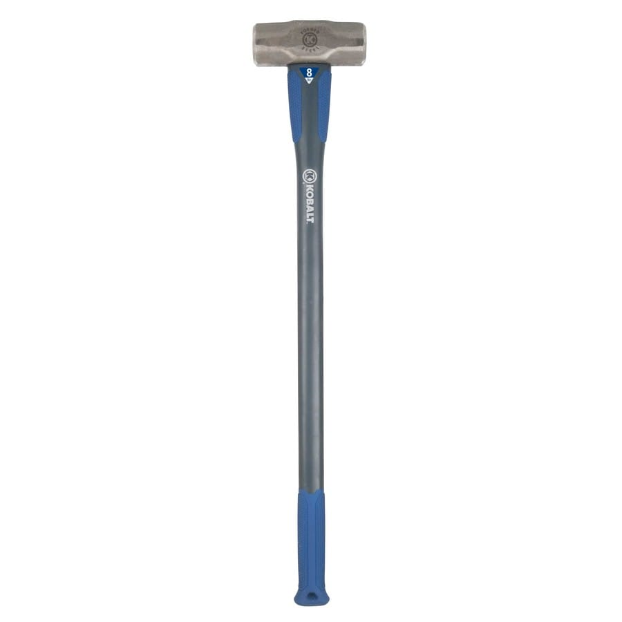 Kobalt 8-lb Steel Sledge Hammer with 34-in Fiberglass Handle