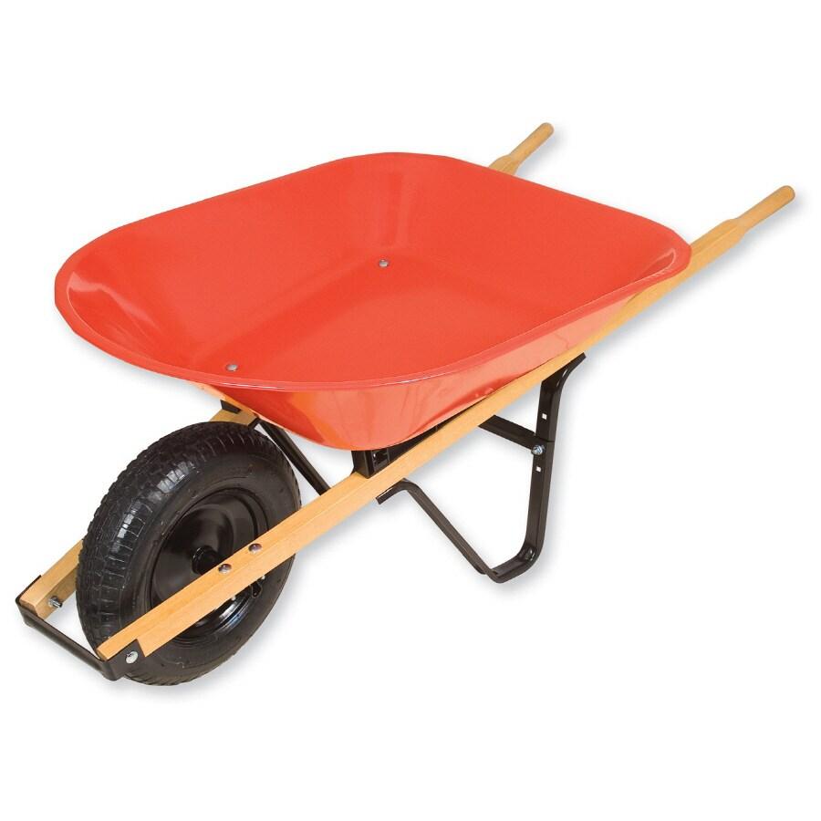 Truper 4-cu ft Steel Wheelbarrow