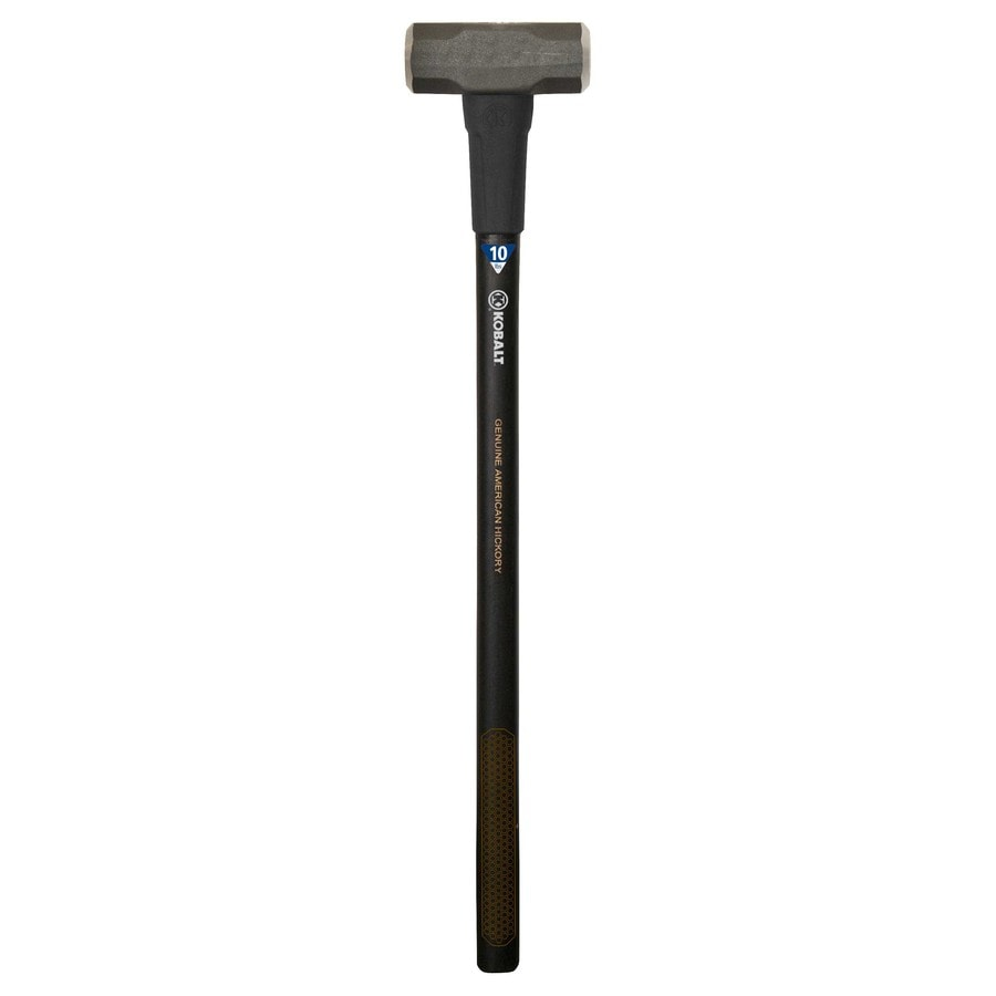 Kobalt 10-lb Steel Sledge Hammer with 36-in Hickory Handle