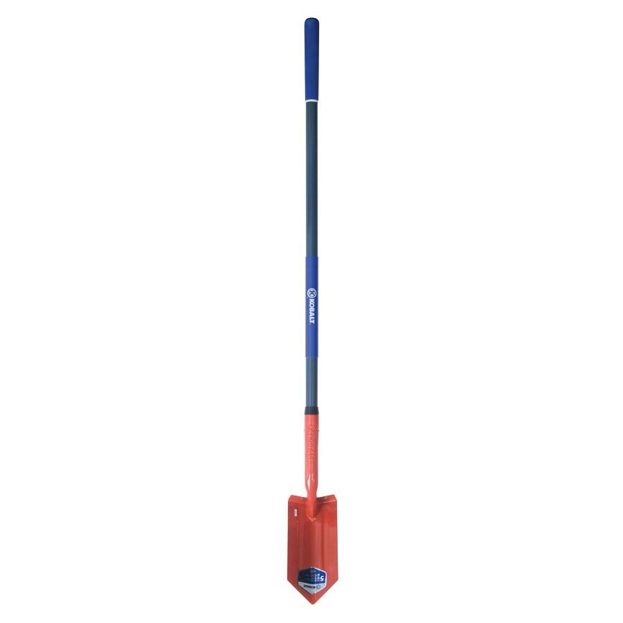 Kobalt Long-Handle Fiberglass Trenching Spade