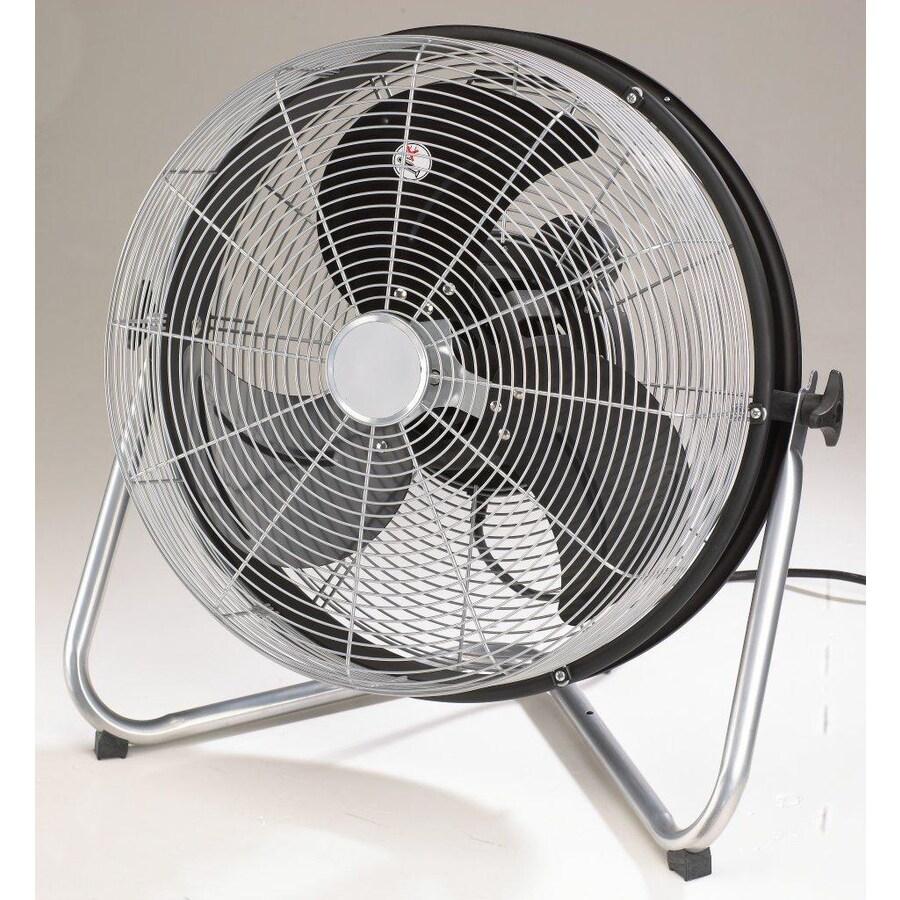 Utilitech 18-in 3-Speed Oscillation High Velocity Fan