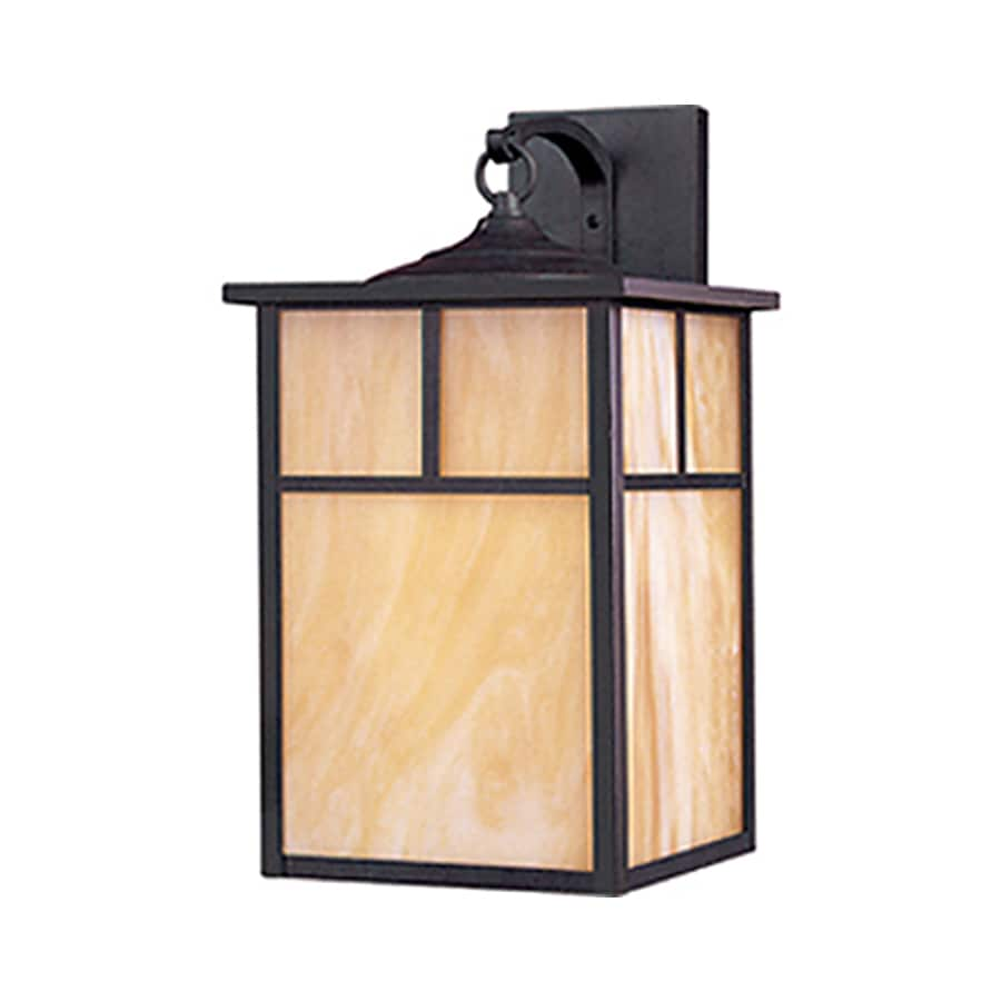 Pyramid Creations Coldwate 16-in H Burnished Outdoor Wall Light