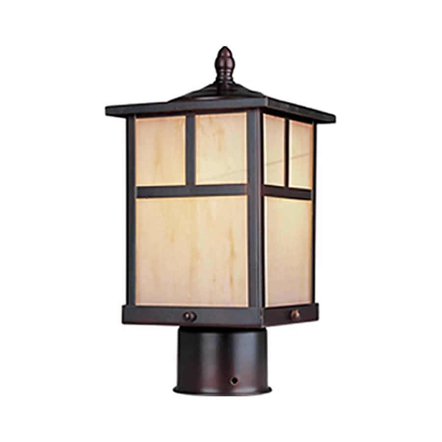 Pyramid Creations Coldwater 12-in H Burnished Outdoor Wall Light