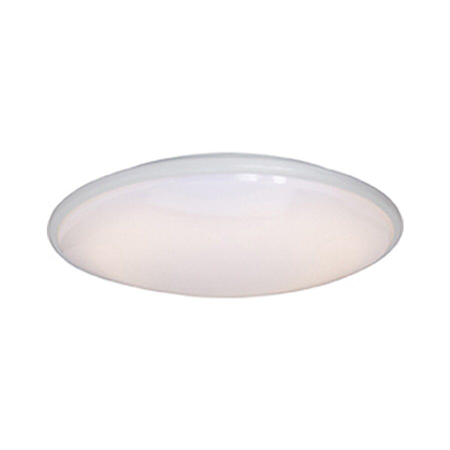 Pyramid Creations 21-in W White Ceiling Flush Mount Light