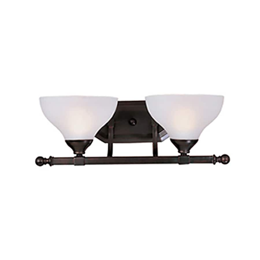 Pyramid Creations Contour 2-Light Oil-Rubbed Bronze Bell Vanity Light