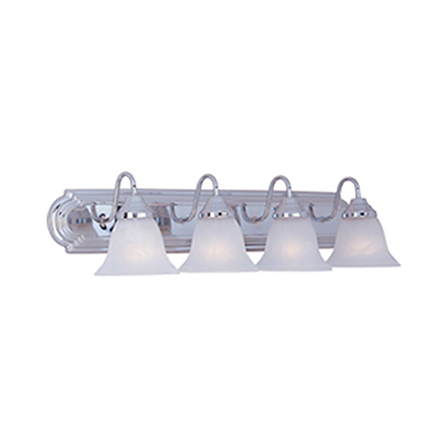 Pyramid Creations Essentialss 4-Light Polished Chrome Bell Vanity Light