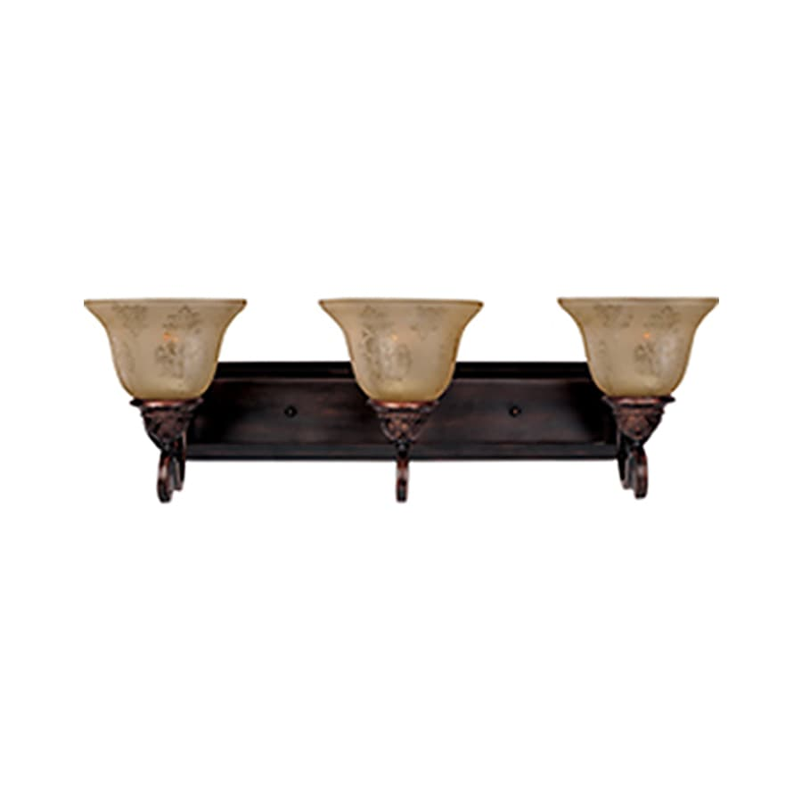 Pyramid Creations Symphony 3-Light Oil-Rubbed Bronze Bell Vanity Light