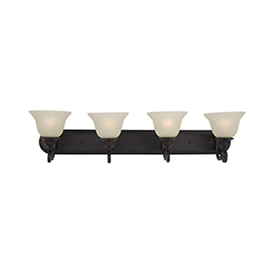 Pyramid Creations Symphony 4-Light Oil-Rubbed Bronze Bell Vanity Light
