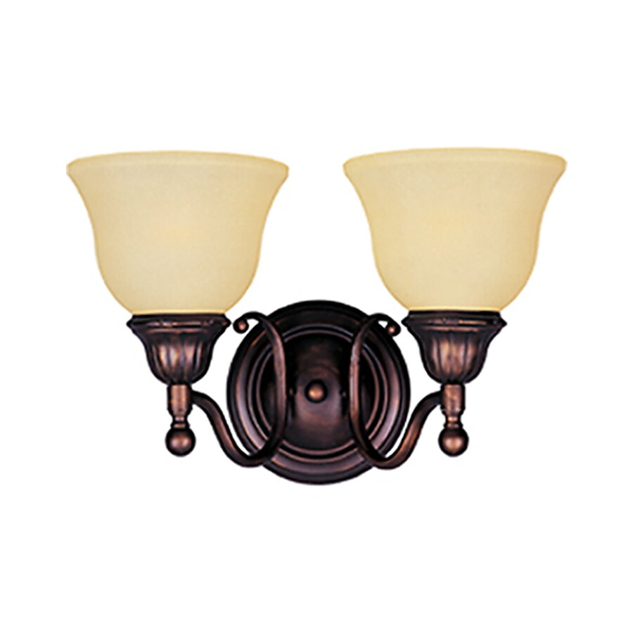 Pyramid Creations Soho 2-Light Oil-Rubbed Bronze Bell Vanity Light