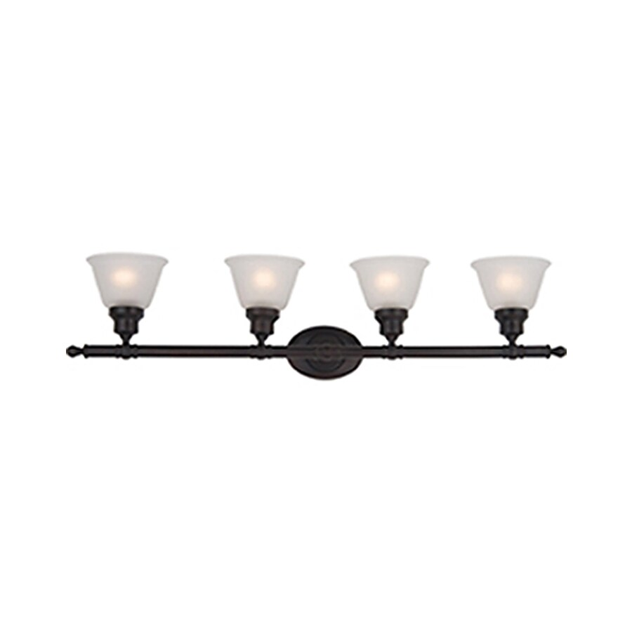 Pyramid Creations Essentialss 4-Light Oil-Rubbed Bronze Bell Vanity Light
