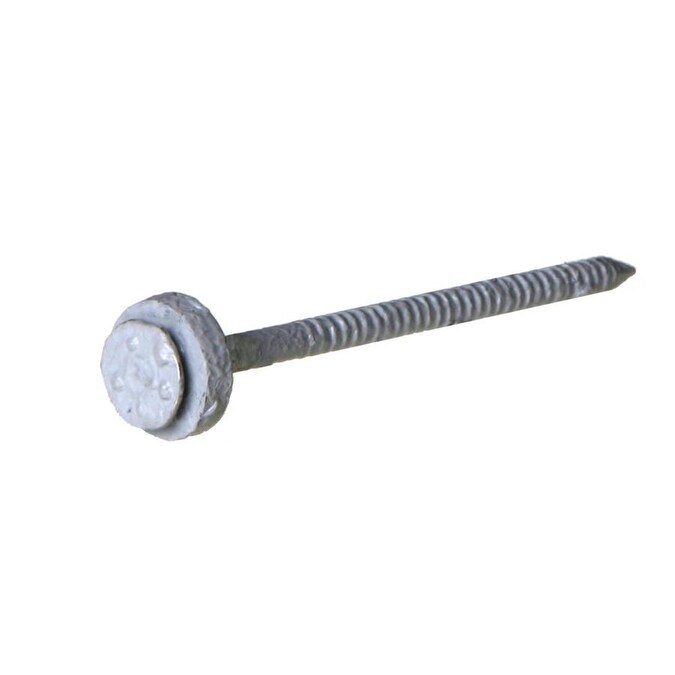 Ondura 3 In Gauge Electro Galvanized Steel Roofing Nails 100 Count In The Roofing Nails Department At Lowes Com