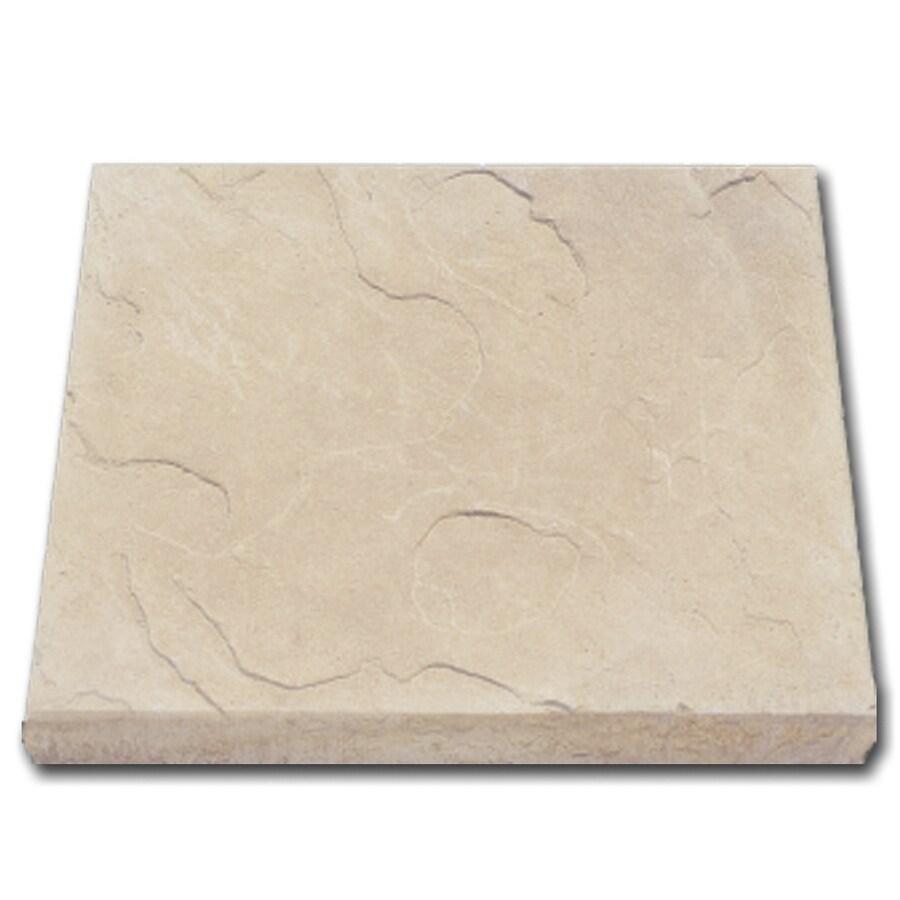 Coronado 18-in x 20-in Cream Stone Veneer Hearthstone