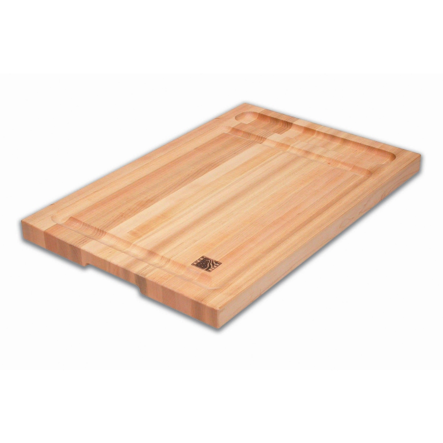 Snow River Products 12-in L x 18-in W Wood Cutting Board