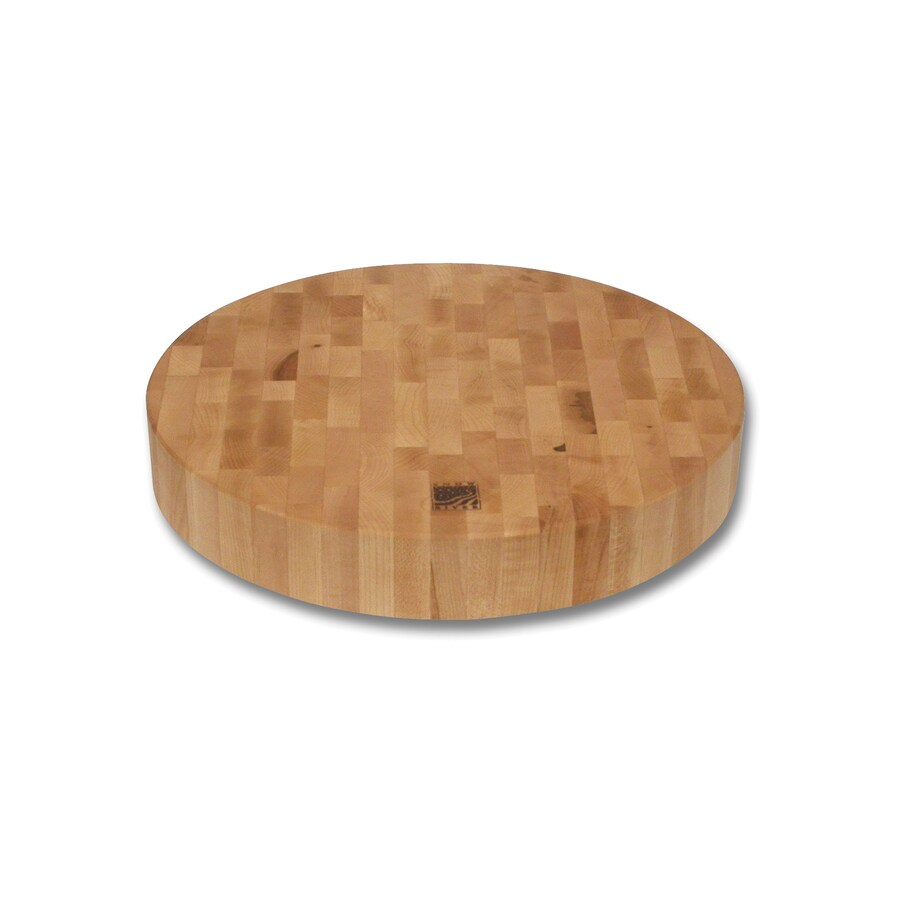 Snow River Products 14-in L x 0-in W Wood Cutting Board