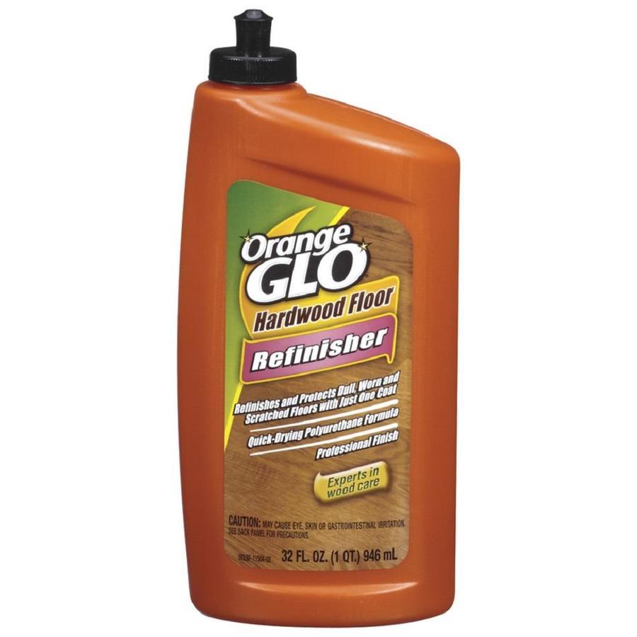 Shop orange glo 32 fl oz wood cleaner at for Polished floor cleaner