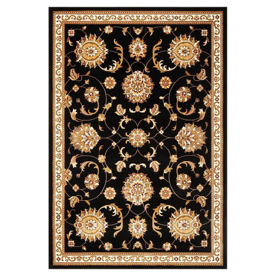 KAS Rugs Mahal Rectangular Indoor Woven Area Rug (Common: 5 x 8; Actual: 63-in W x 91-in L)