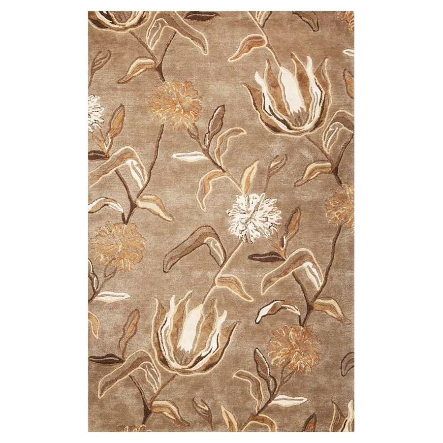 KAS Rugs Florentine Rectangular Indoor Tufted Throw Rug (Common: 3 x 5; Actual: 42-in W x 66-in L)