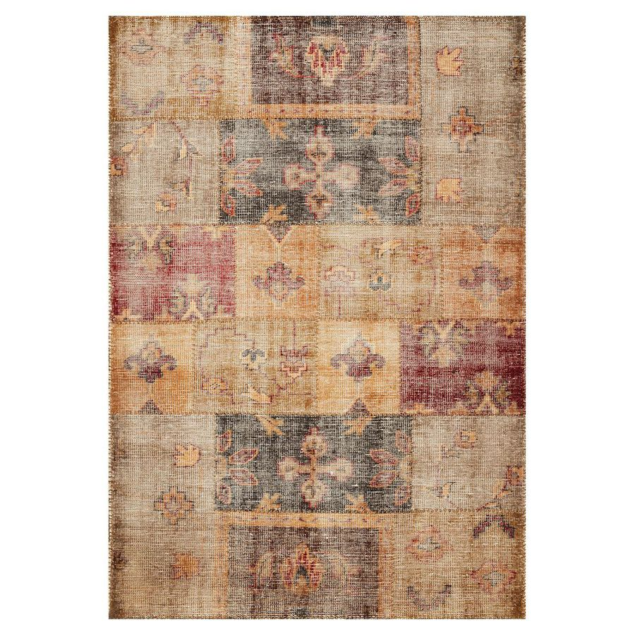 KAS Rugs Vintage Charm Rectangular Indoor Hand-Knotted Area Rug (Common: 8 x 11; Actual: 96-in W x 132-in L)