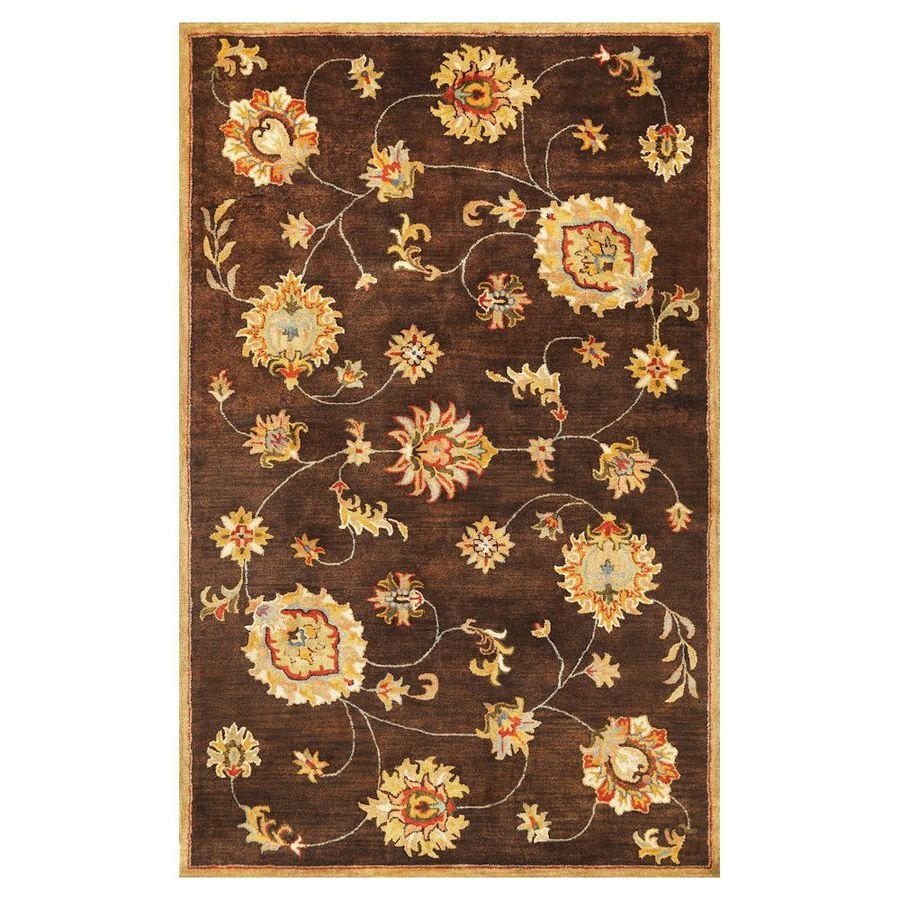 KAS Rugs Tapestry Today Rectangular Indoor Tufted Throw Rug (Common: 3 x 5; Actual: 39-in W x 63-in L)