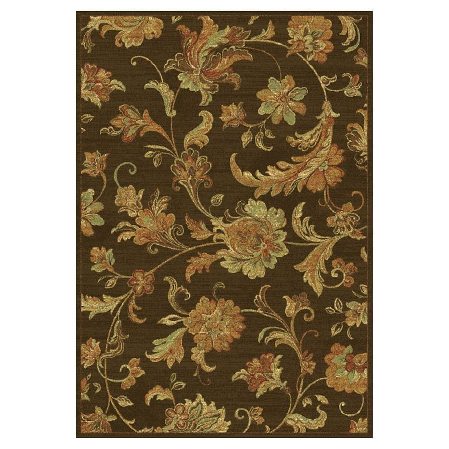 KAS Rugs Todays Treasures Rectangular Indoor Woven Area Rug (Common: 8 x 11; Actual: 94-in W x 134-in L)