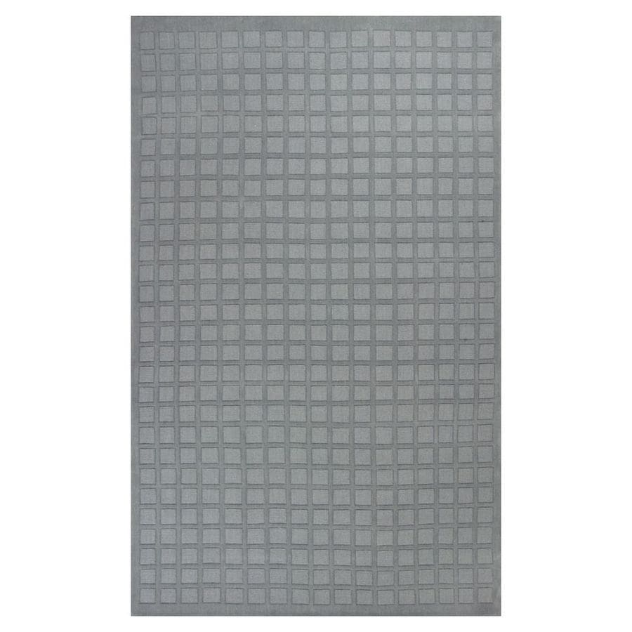 KAS Rugs Modern Simplicity Rectangular Indoor Tufted Area Rug (Common: 5 x 8; Actual: 60-in W x 96-in L)